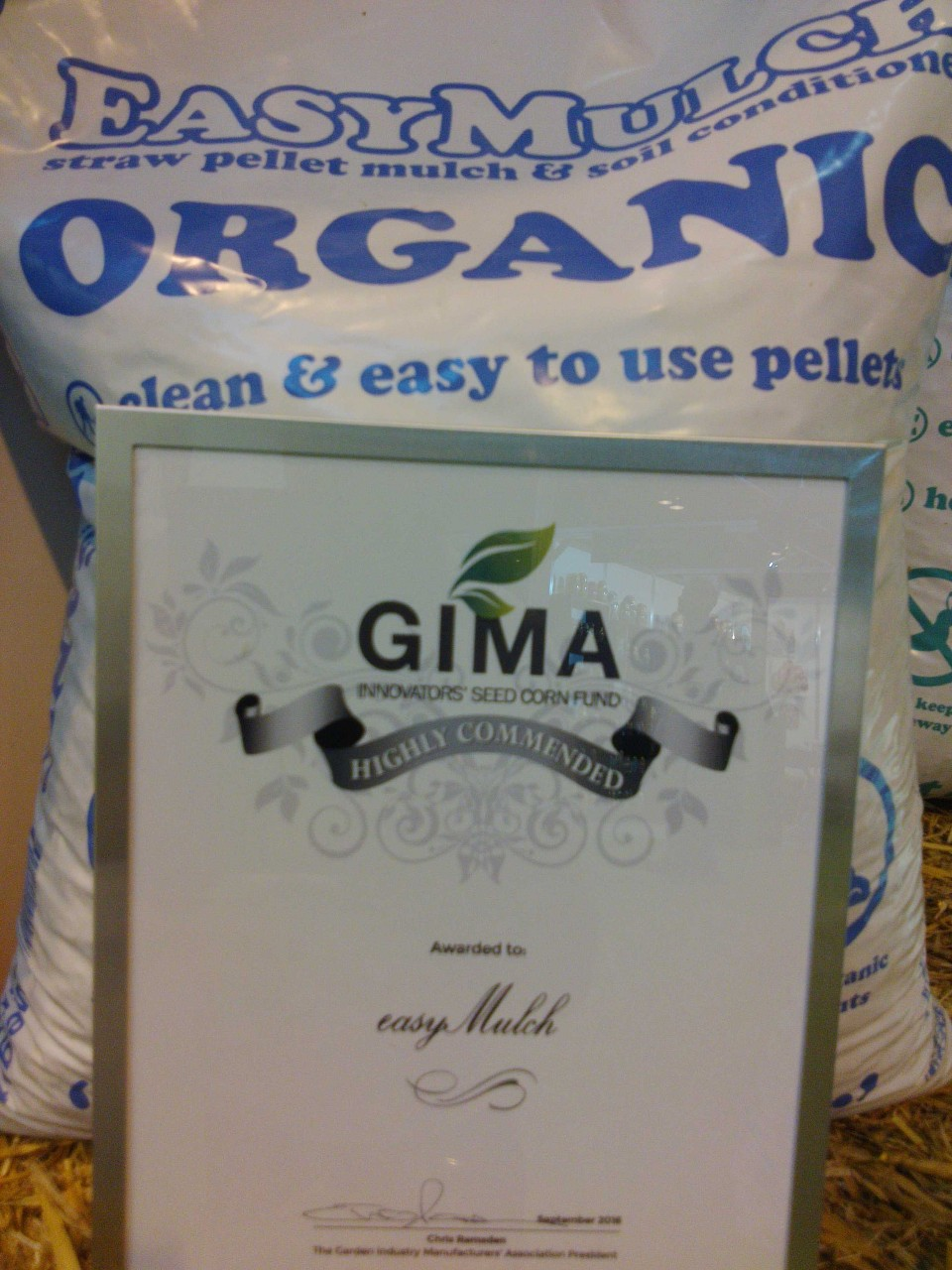 easymulch wins highly commended status at GIMA