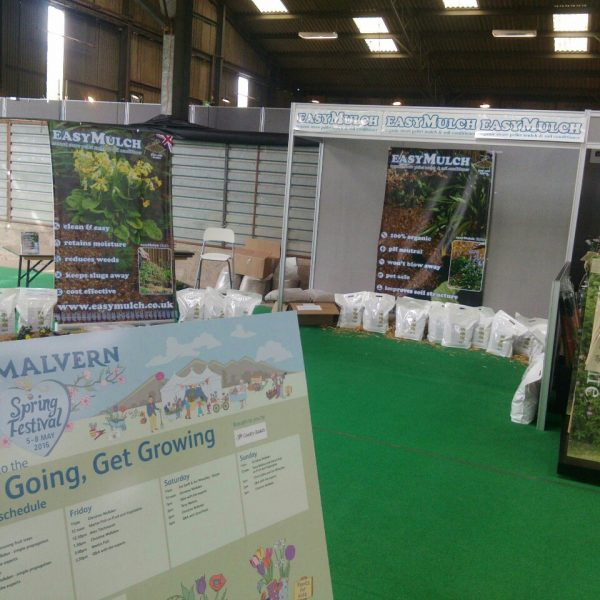 easymulch can be found at many local garden shows