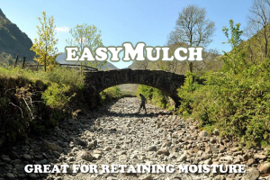 easyMulch - Great For Retaining Moisture