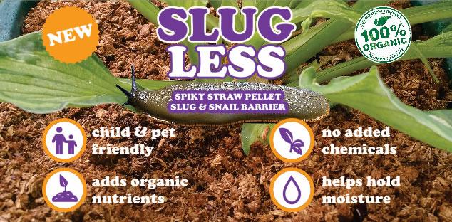 Slugless Organic Slug & Snail Repellent